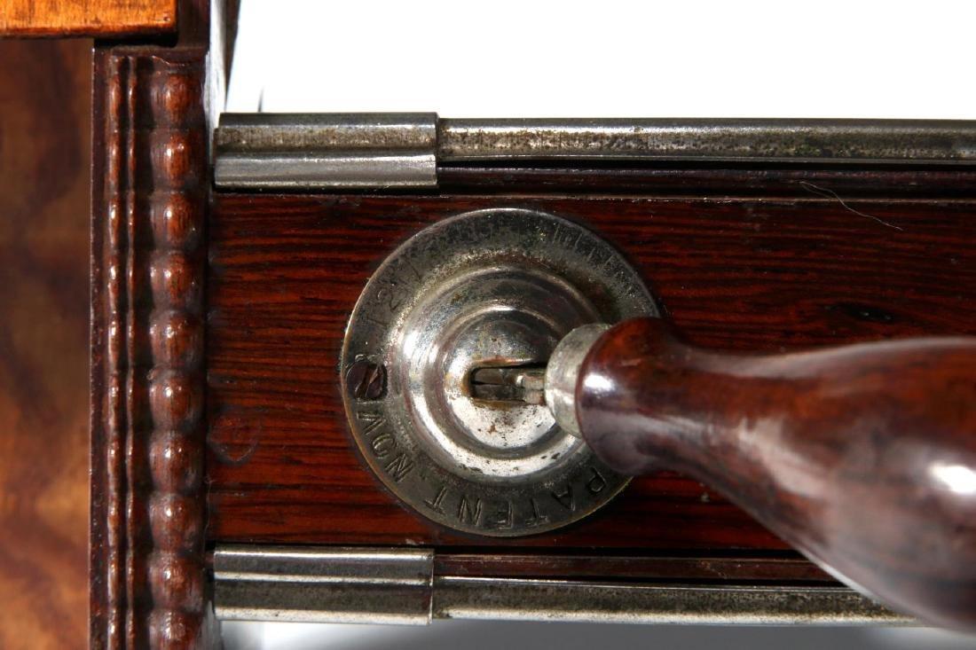 A 19TH CENTURY HAND-HELD STEREOSCOPE - 5