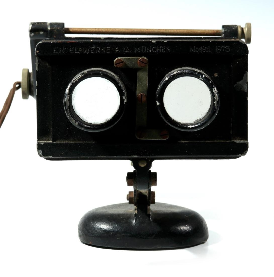 A GERMAN ERTEL WERK M1973 ELECTRIC STEREOSCOPE - 3