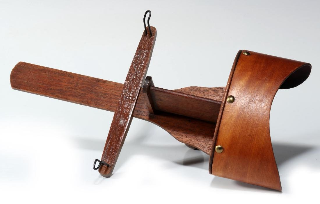 TWO 19TH CENTURY HAND-HELD STEREOSCOPES - 3