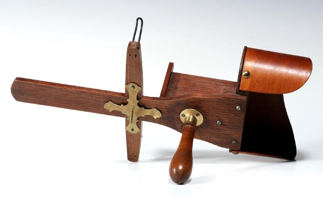 TWO 19TH CENTURY HAND-HELD STEREOSCOPES - 5