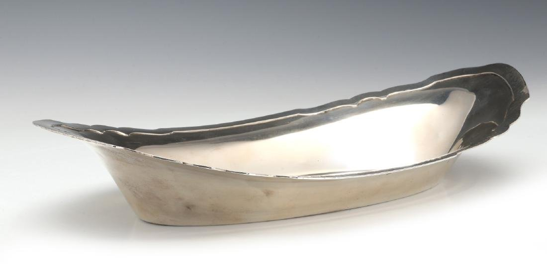 SHREVE AND CO EARLY 20TH C HAMMERED STERLING - 9