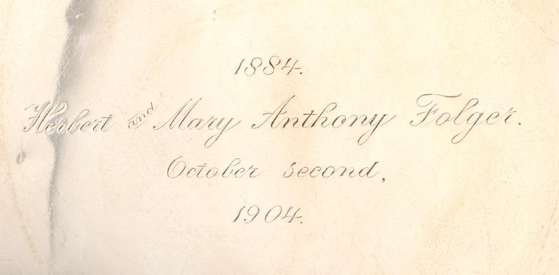 EARLY 20TH C. SHREVE & CO ART NOUVEAU STERLING - 4