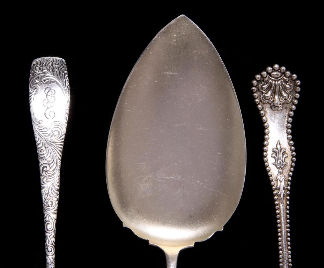 LATE 19TH / EARLY 20TH CENTURY STERLING SERVERS - 2