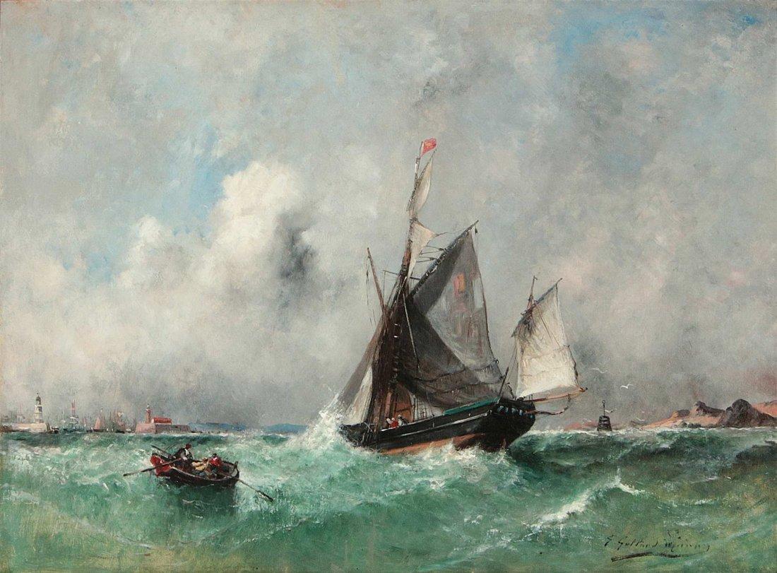 PAUL CHARLES EMMANUEL GALLARD-LEPINAY (1842-1885)