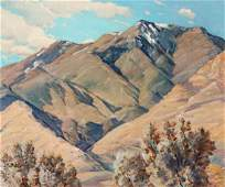 GUSTAVE CIMIOTTI JR (1875-1969) OIL ON ARTIST'S BOARD