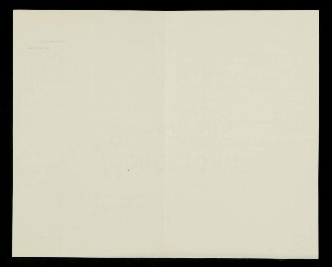 HANDWRITTEN LETTERS BY SIR ROBERT BALL ASTRONOMER - 4