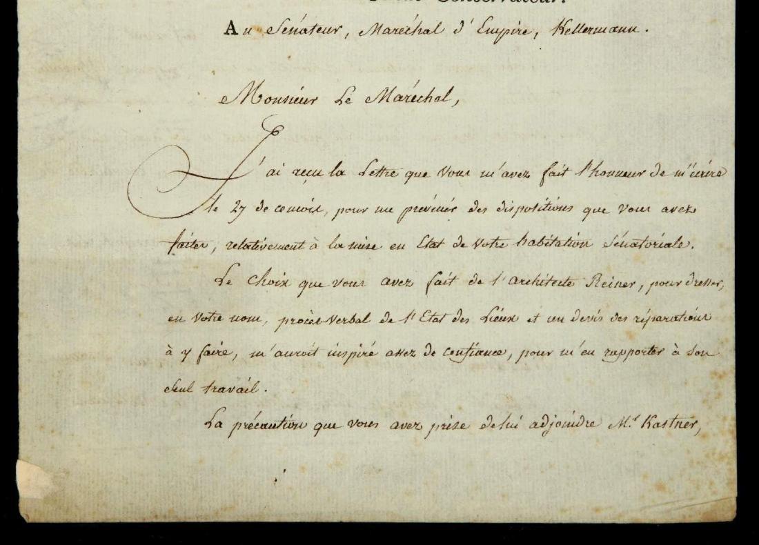 1803 LETTER SIGNED BY PIERRE-SIMON LAPLACE - 3