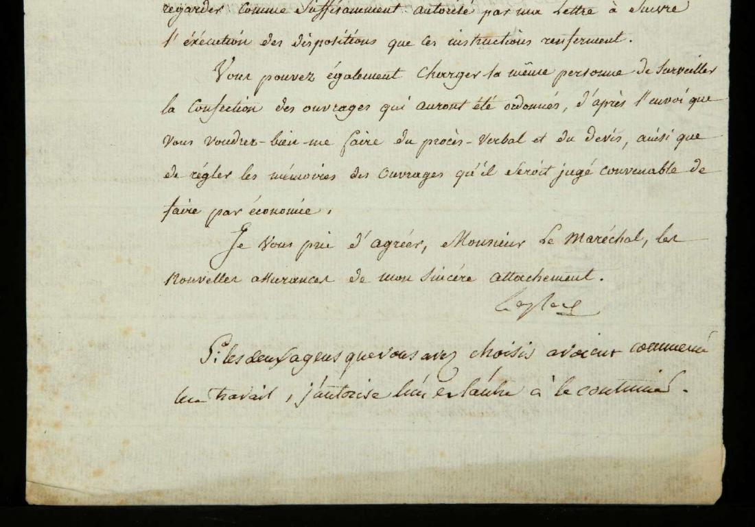 1803 LETTER SIGNED BY PIERRE-SIMON LAPLACE - 6