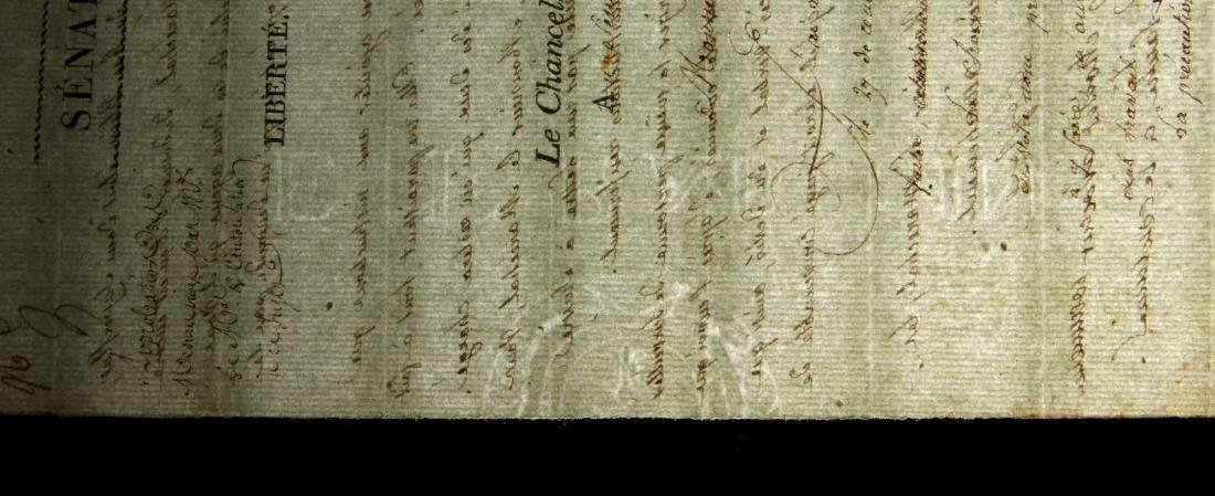 1803 LETTER SIGNED BY PIERRE-SIMON LAPLACE - 8