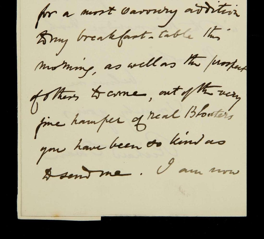 HANDWRITTEN LETTER BY RICHARD OWEN - 3