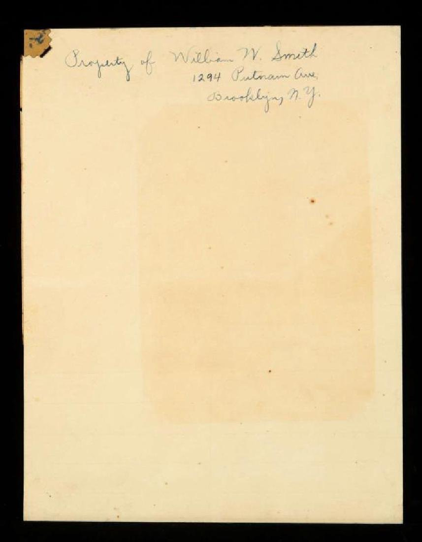 SIGNATURES OF PRES. HERBERT HOOVER AND CABINET - 6