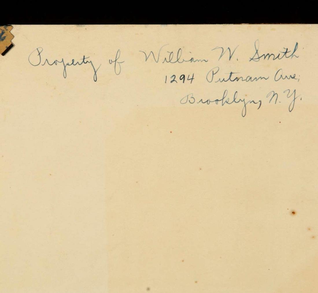 SIGNATURES OF PRES. HERBERT HOOVER AND CABINET - 7