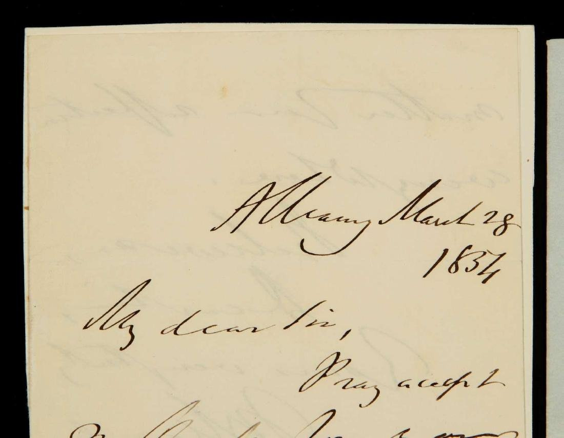 TWO HANDWRITTEN LETTERS BY THOMAS MACAULAY - 2