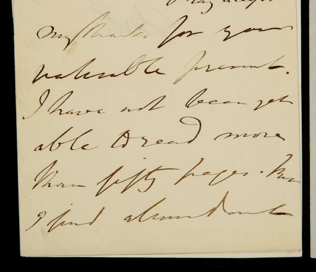 TWO HANDWRITTEN LETTERS BY THOMAS MACAULAY - 3