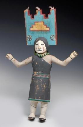 An Unusual Hemis Kachina Attributed Jimmie Koots