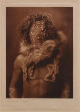 Edward Sheriff Curtis Photogravure 'tobadzischini'