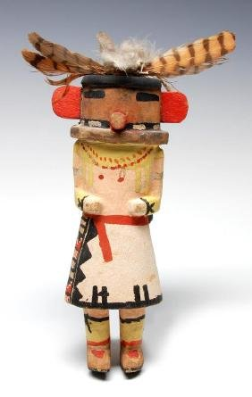 A Circa 1925 Hopi Rugan Kachina Doll