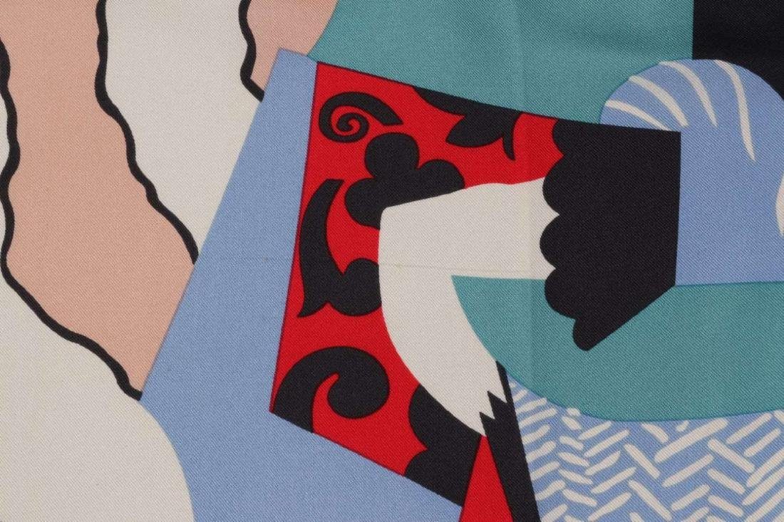 A  SILK SCARF AFTER PICASSO'S PAINTING L'ITALIENNE - 8