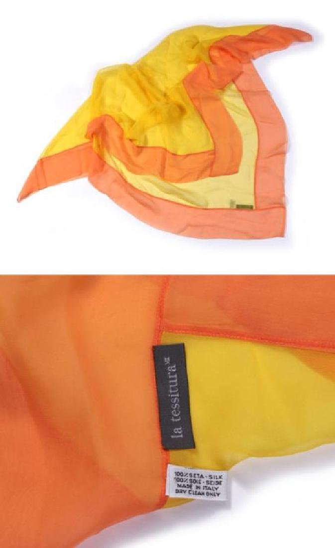 A COLLECTION OF SILK AND OTHER DESIGNER SCARVES - 10
