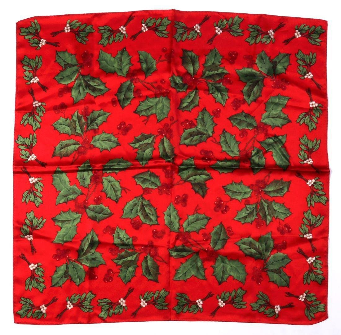 ELEVEN HOLIDAY-THEMED SCARVES - 7