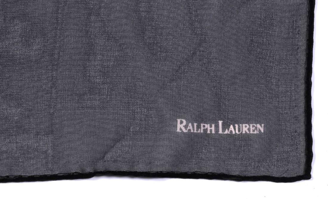 FIVE RALPH LAUREN DESIGNER SCARVES - 6