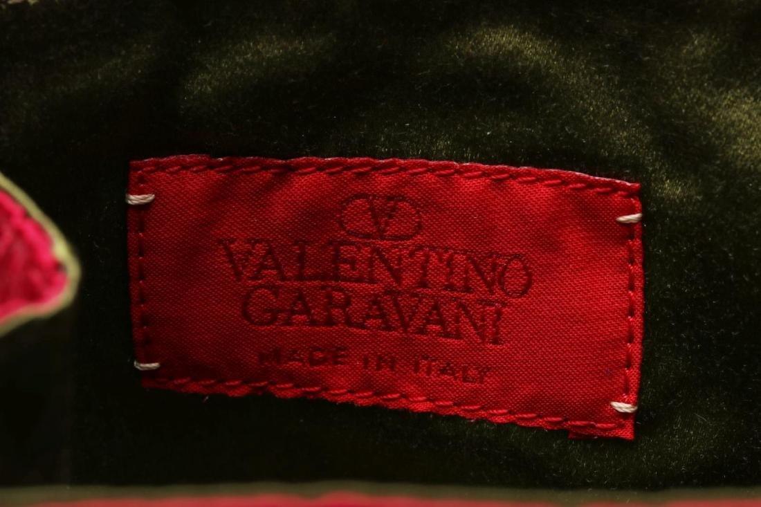 A VALENTINO GARAVANI BEADED EVENING PURSE - 8