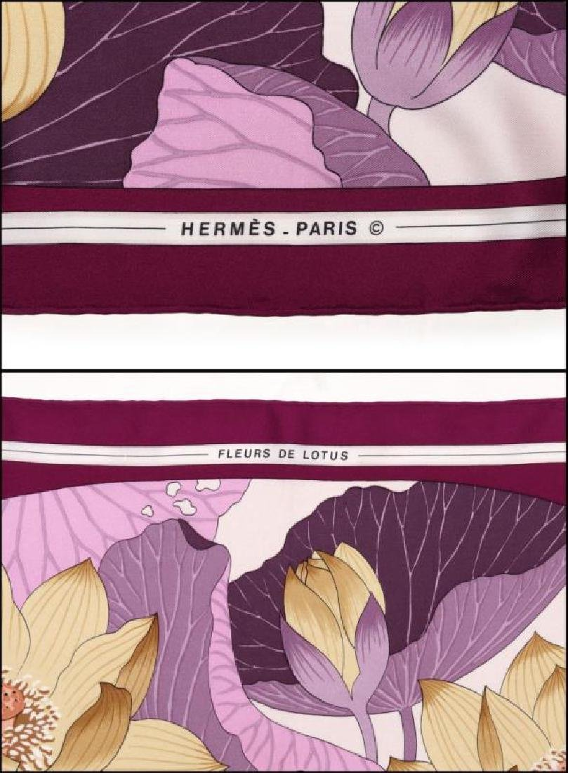 AN HERMES FRENCH DESIGNER SILK SCARF - 7
