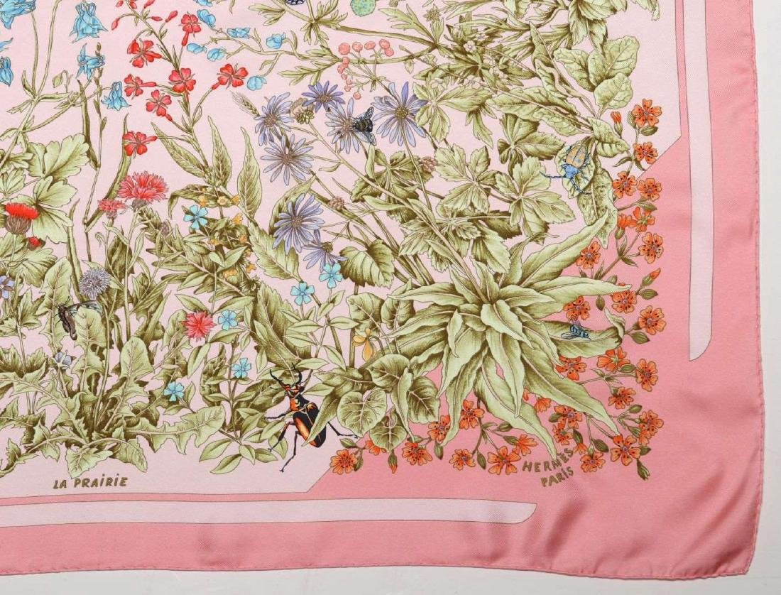AN HERMES FRENCH DESIGNER SILK SCARF - 2