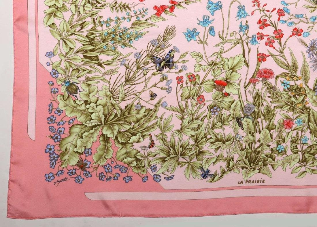 AN HERMES FRENCH DESIGNER SILK SCARF - 3