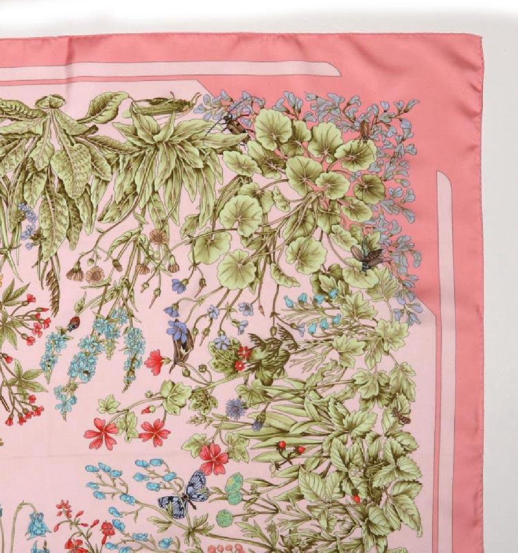AN HERMES FRENCH DESIGNER SILK SCARF - 5