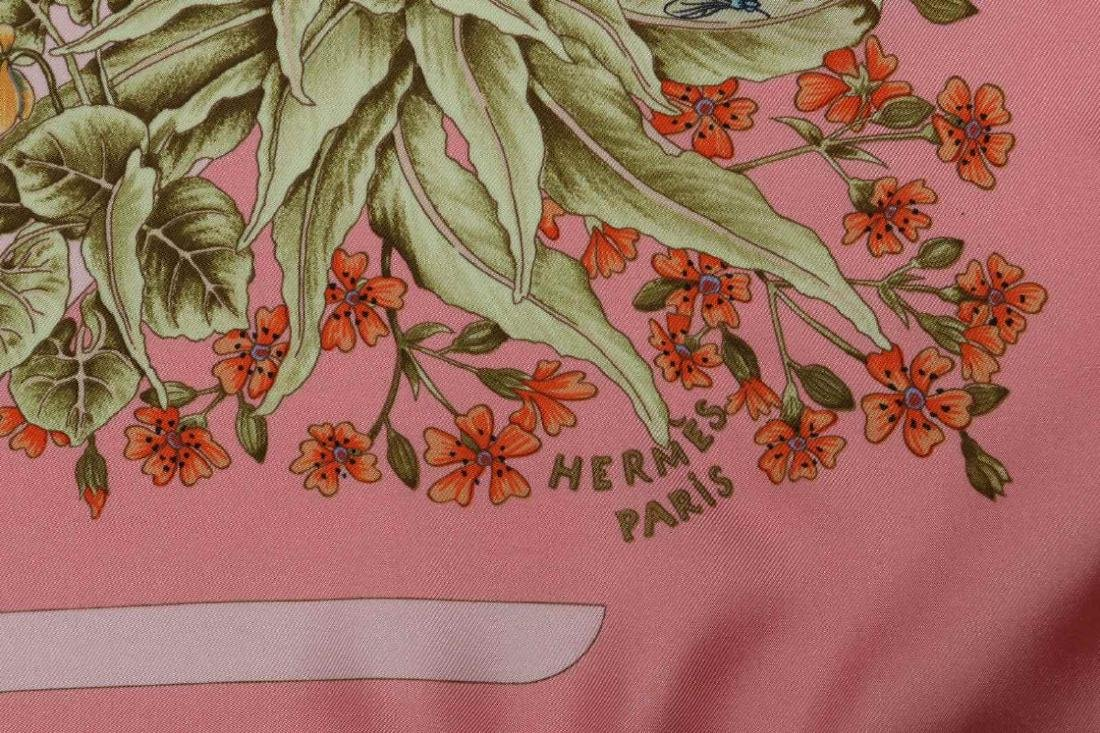 AN HERMES FRENCH DESIGNER SILK SCARF - 8