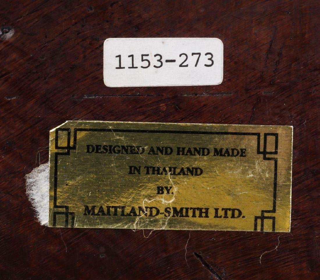 A MAITLAND SMITH BRONZE COVERED BOX - 10
