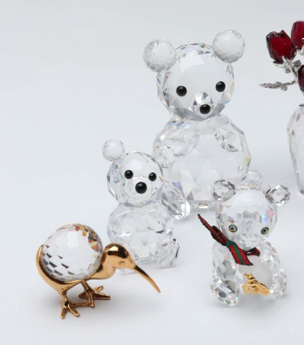 A COLLECTION OF GOOD SWAROVSKI CRYSTAL MINIATURES - 3