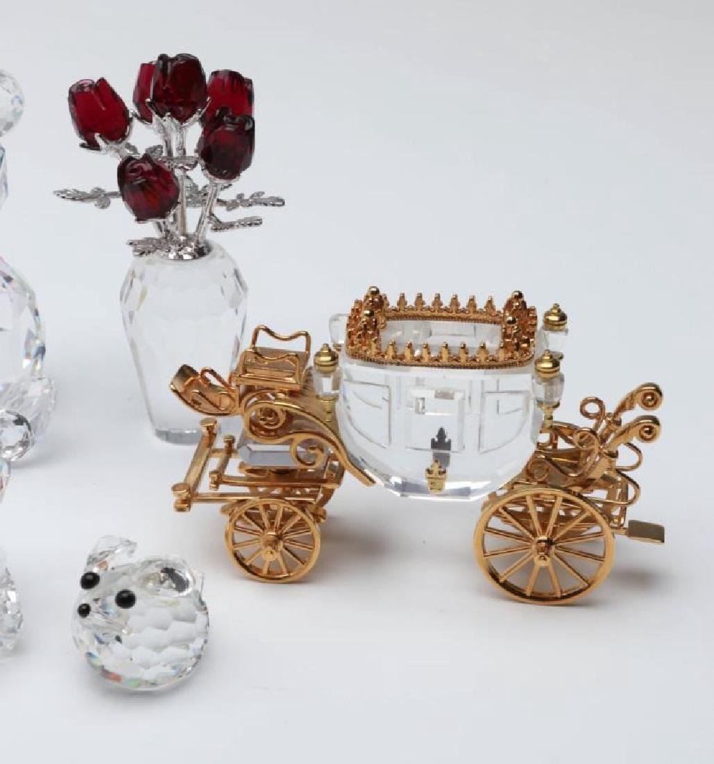 A COLLECTION OF GOOD SWAROVSKI CRYSTAL MINIATURES - 4