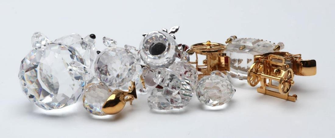 A COLLECTION OF GOOD SWAROVSKI CRYSTAL MINIATURES - 6