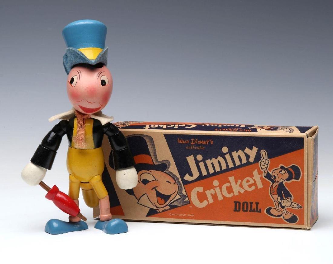 A CIRCA 1940 IDEAL NOVELTY CO. JIMINY CRICKET FIGU