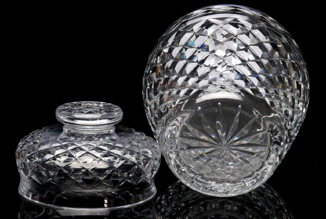 WATERFORD 'COMERAGH' CUT GLASS BOWL AND VASE - 5