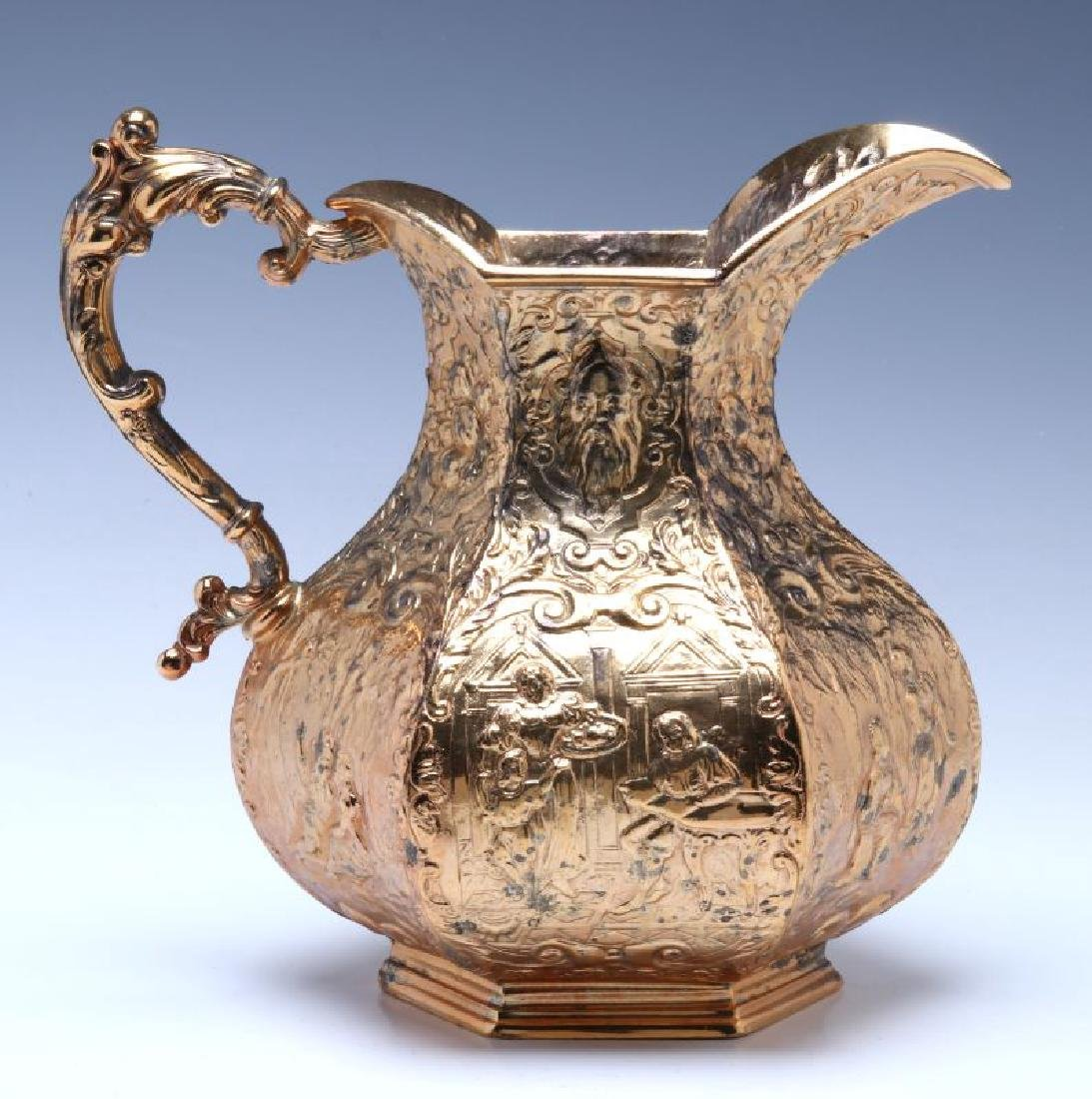 CIRCA 1900 FRENCH RENAISSANCE REVIVAL WATER PITCHER