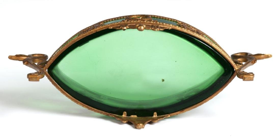 A LATE 19TH CENTURY EGYPTIAN REVIVAL DISH IN STAND - 7