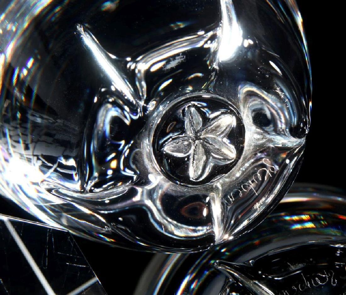 A PAIR OF STEUBEN PAPERWEIGHTS - 5