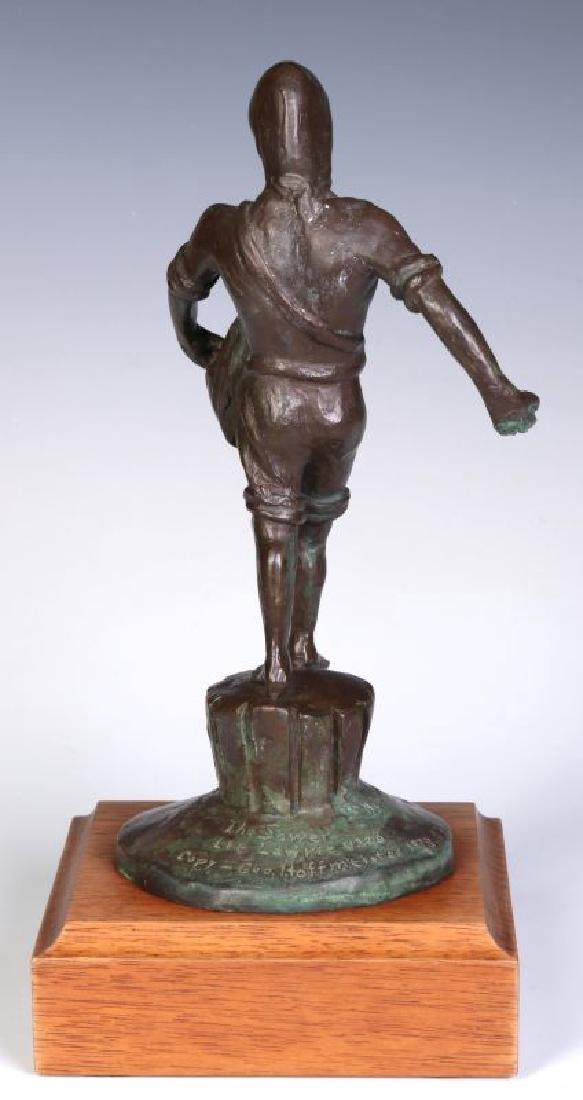 A 20TH C. BRONZE MODEL OF 'THE SOWER' AFTER LAWRIE - 6