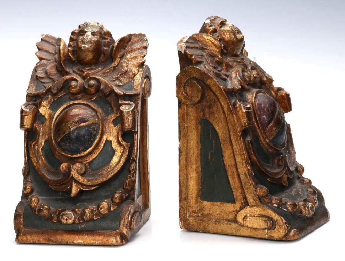 A PAIR OF EARLY 20TH CENTURY BOOKENDS
