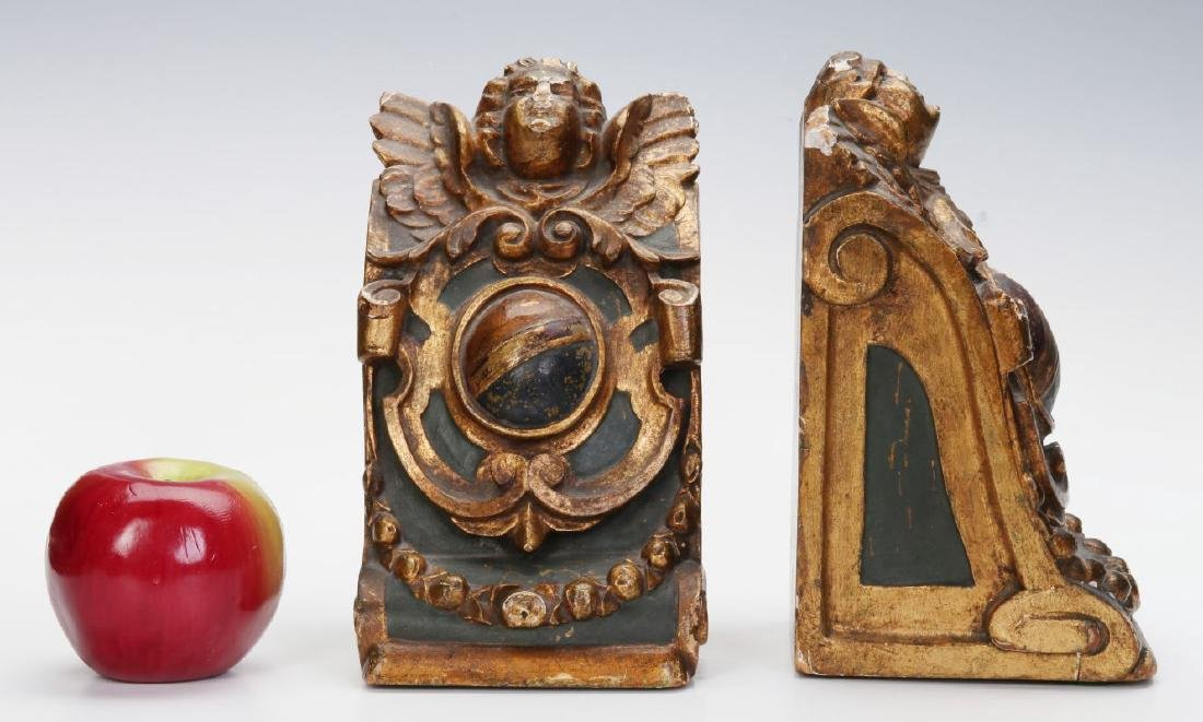 A PAIR OF EARLY 20TH CENTURY BOOKENDS - 2