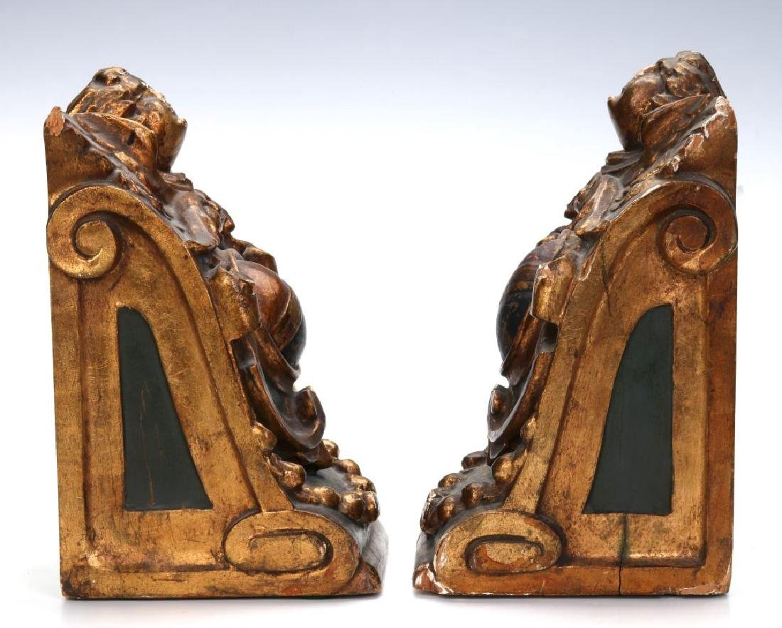 A PAIR OF EARLY 20TH CENTURY BOOKENDS - 4