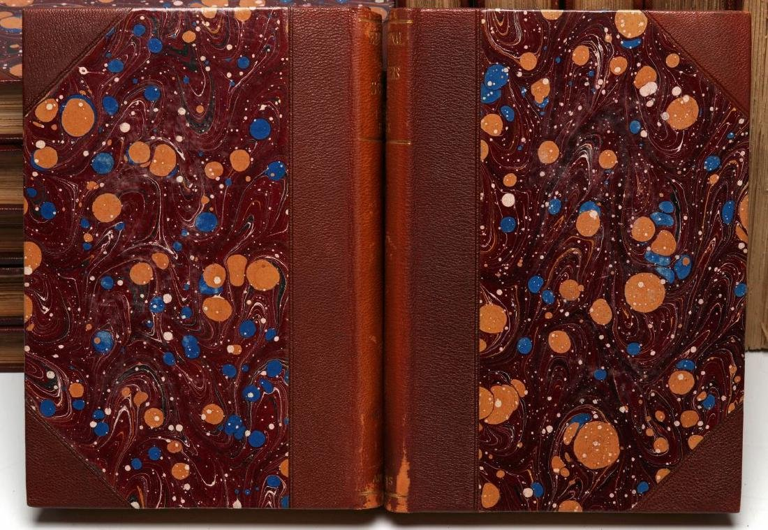 A LATE 19TH C. SET OF BOOKS ON SCIENCE AND HISTORY - 6