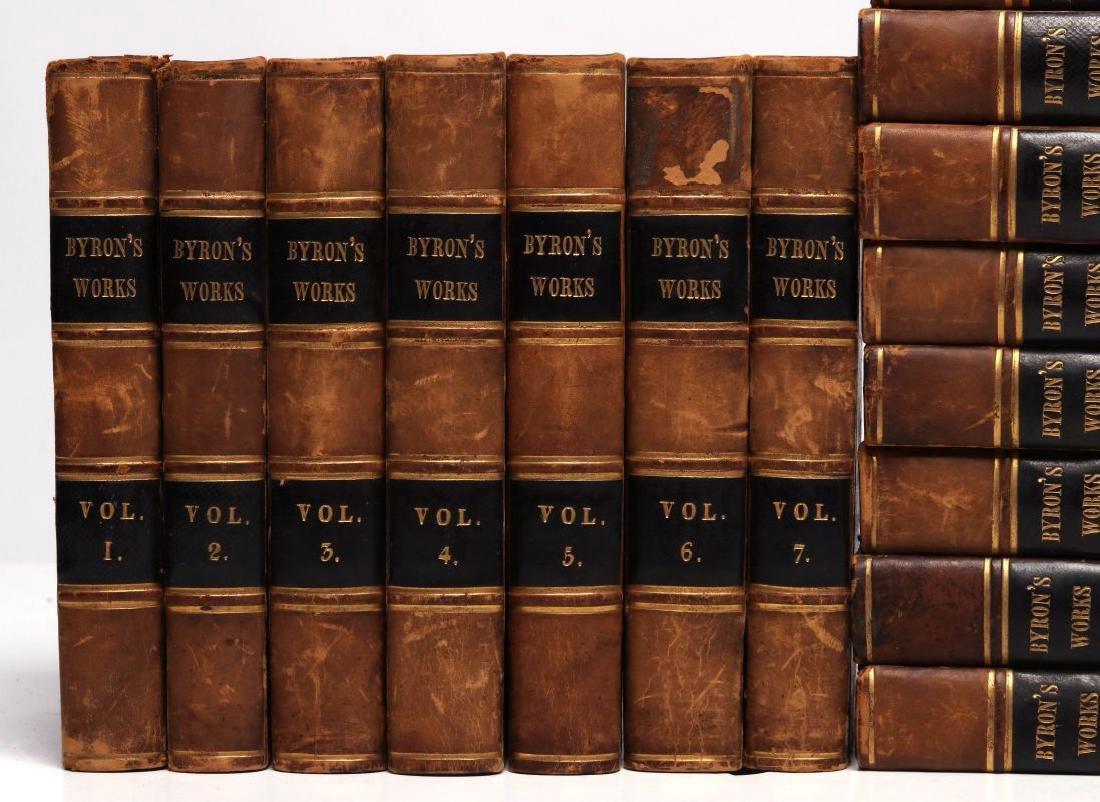 THOMAS MOORE, 'BYRON'S WORKS', 1833, 15 VOLS. - 3