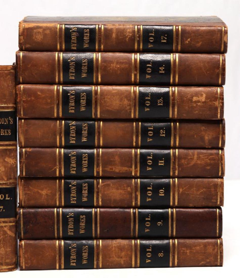 THOMAS MOORE, 'BYRON'S WORKS', 1833, 15 VOLS. - 4