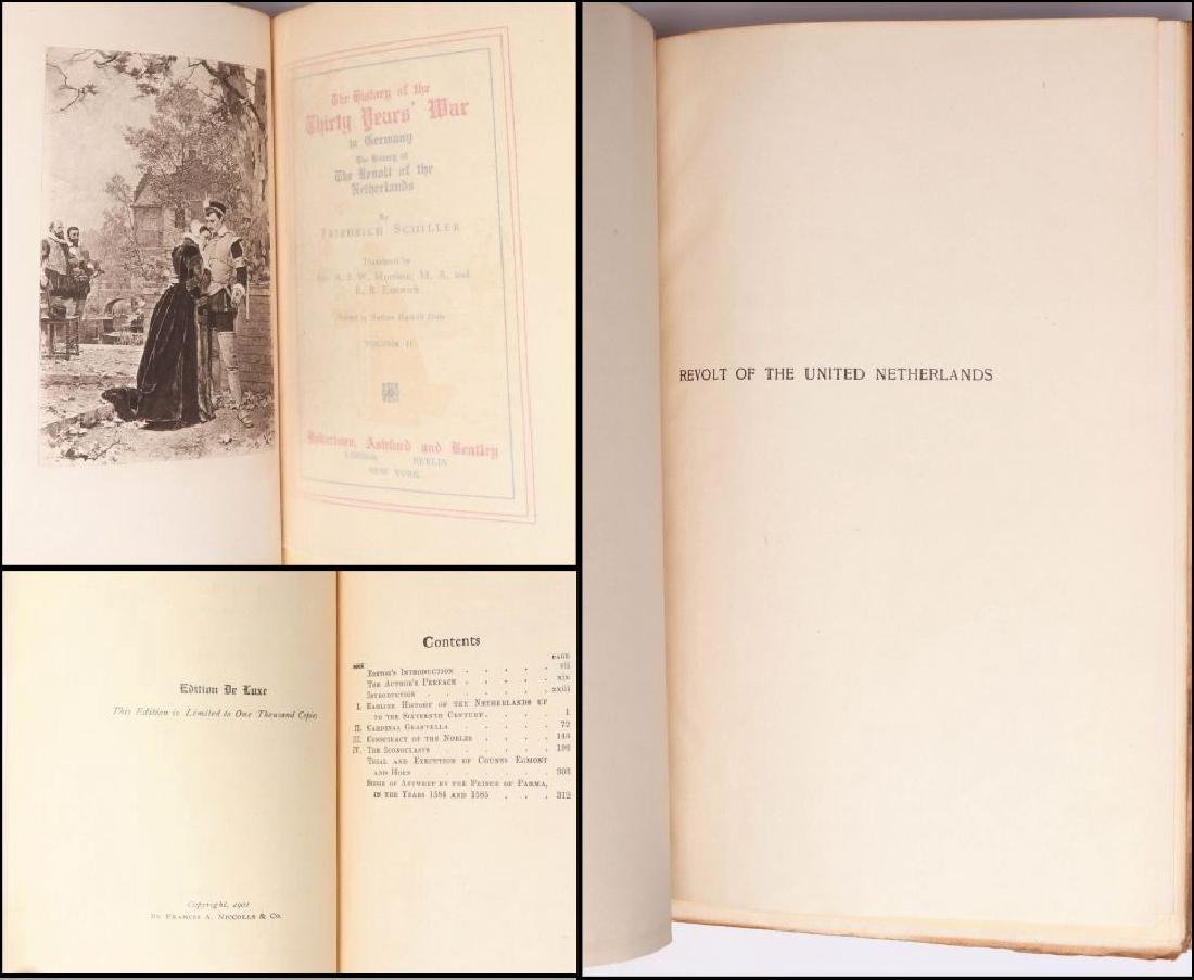 WORKS OF SCHILLER AND GOETHE, 12 VOL., 1902 - 10