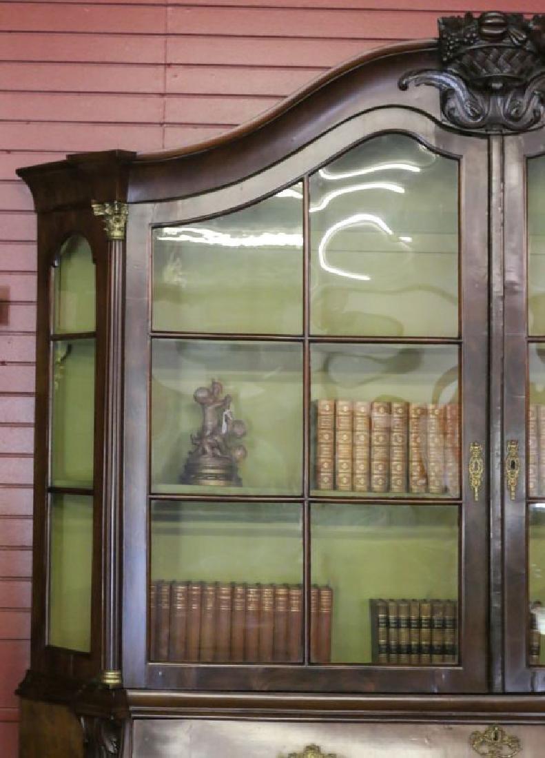 A CIRCA 1800 DUTCH BOMBÉ BOOK OR DISPLAY CASE - 3