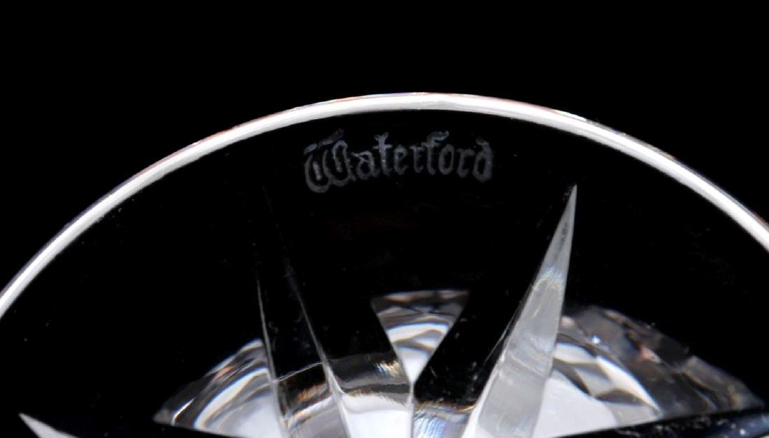 SIX WATERFORD 'LISMORE' CUT CRYSTAL PIECES - 4